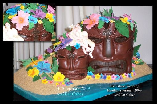 Custom Made Tiki Island Wedding