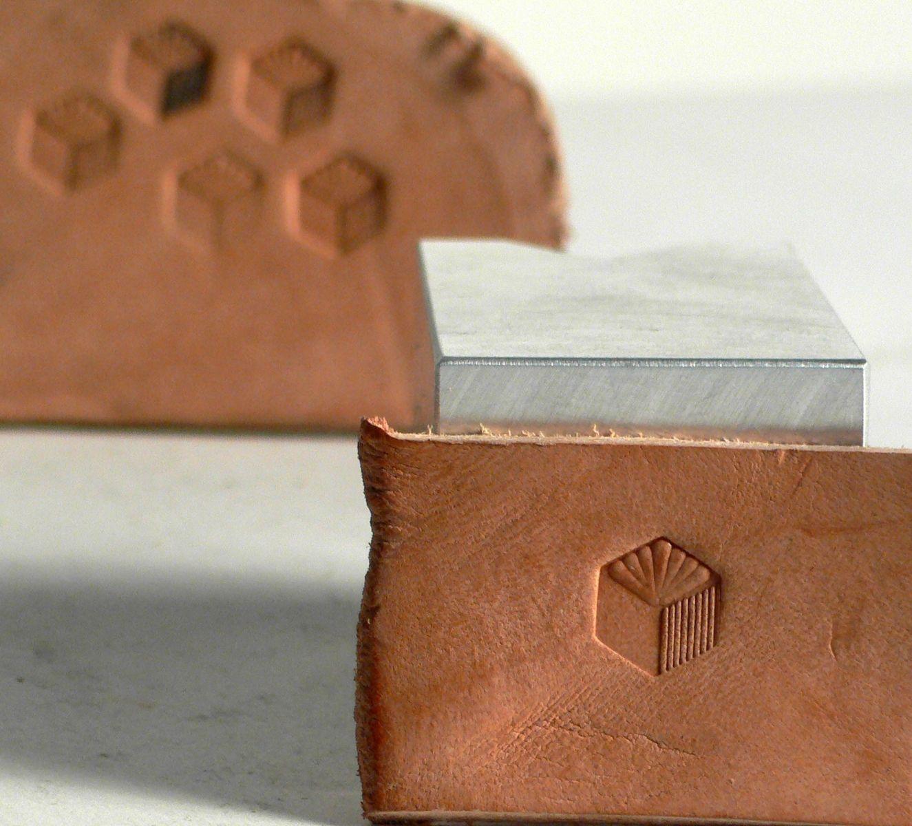 Custom Made Welker Handmade Leather Stamp 274 M