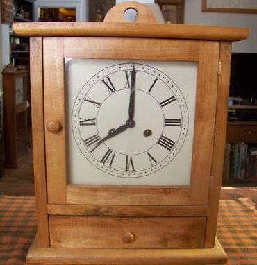 Custom Made Shaker Drawer Clock