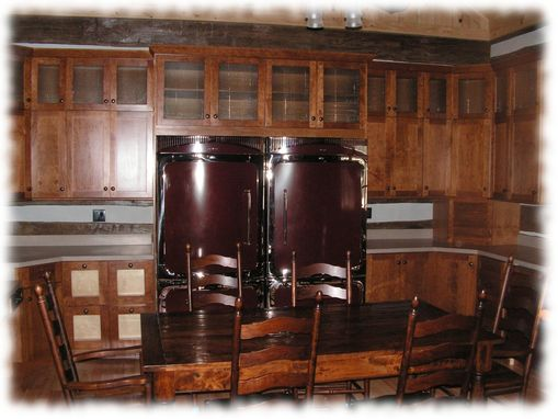 Custom Made Shaker Style Kitchen Cabinets
