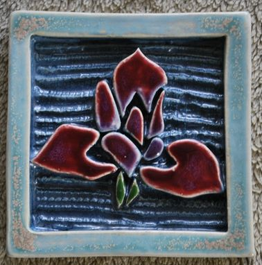 Custom Made Iris Tile #2