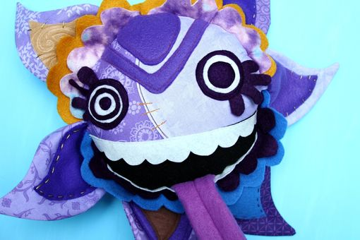 Custom Made Scion Of Purple Glitch Plush Pillow