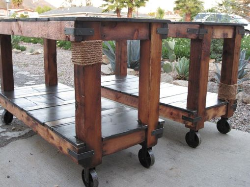 Custom Made Rustic Utility Carts