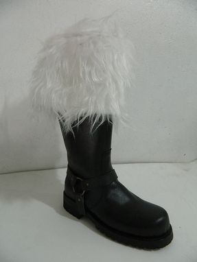 Custom Made Santa Leather Boots
