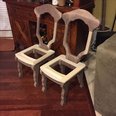 Custom Made Custom Wine Room Chairs