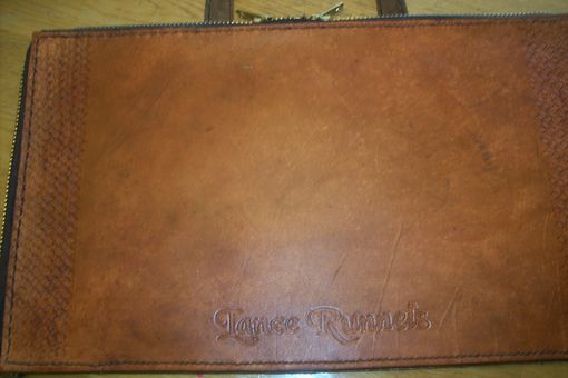 Custom Made Custom Leather Mason Apron Half Case With Personalization