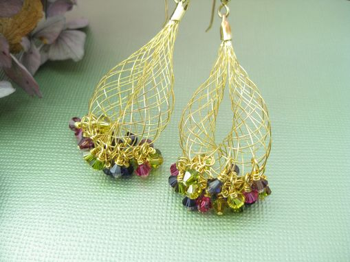 Custom Made Berrylicious Cha Cha Swarovski Crystal Earrings