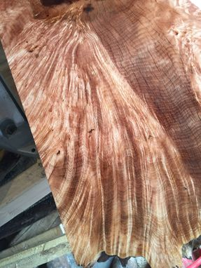 Custom Made Live Edge Countertop