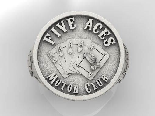 Custom Made Custom Motor Club Men's Ring