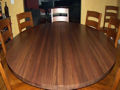 Custom Made Solid Walnut Table Top