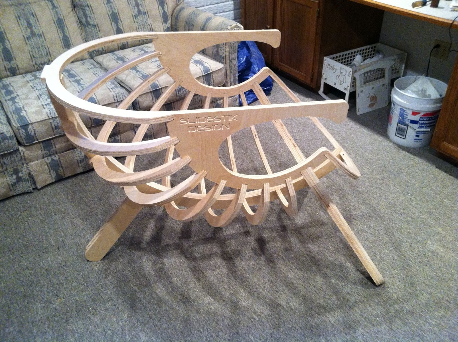 Groovy Custom Made Bowl Chair By Slidestik Design And Manufacturing Ibusinesslaw Wood Chair Design Ideas Ibusinesslaworg