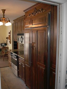 Custom Made Picanti Walnut Galley Kitchen