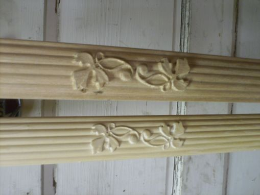 Custom Made Carved Beaded Molding