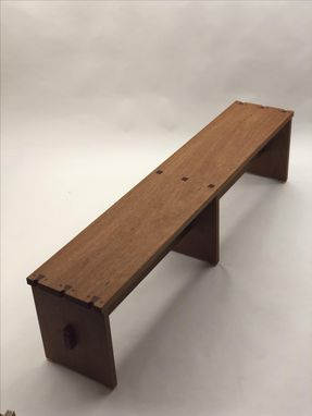Custom Made Tea House Bench