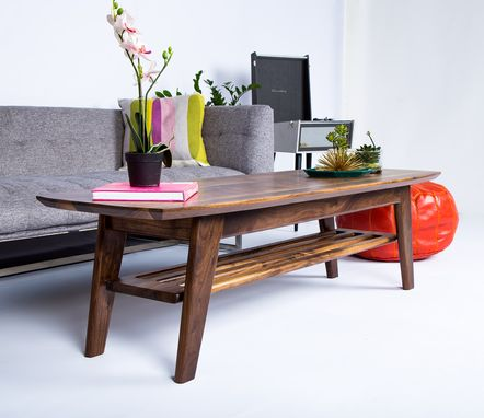 Custom Made The Soho: Midcentury Modern  Surfboard Coffee Table