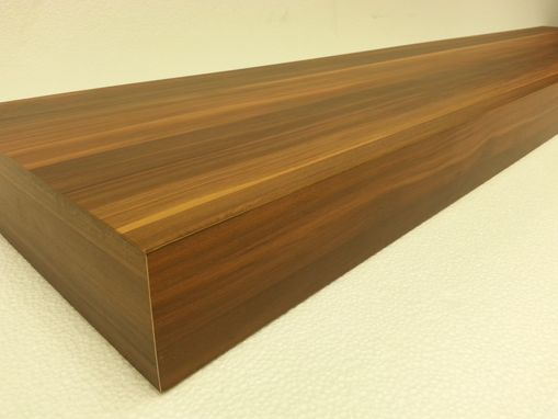 Custom Made Cedar Floating Wall Shelves 72 Inch Wall Decorative Shelf
