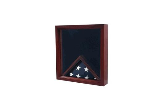 Custom Made Air Force Flag & Medal Display Case - Shadow Box
