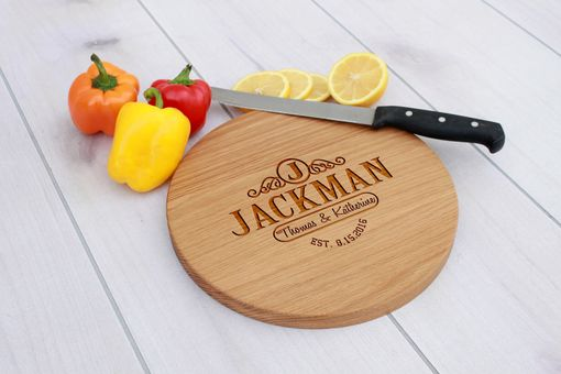 Custom Made Personalized Cutting Board, Engraved Cutting Board, Custom Wedding Gift – Cbr-Wo-Jackman