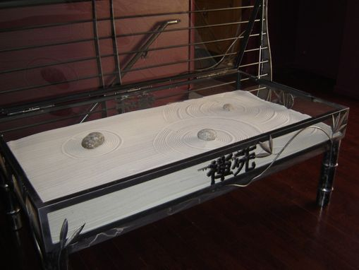 Custom Made Zen Garden Table