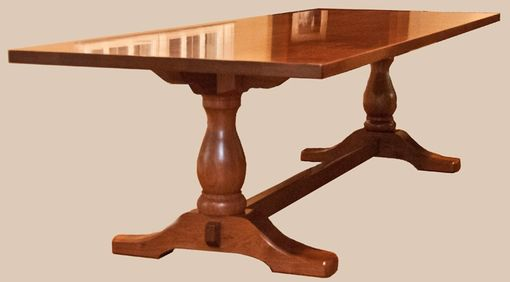Custom Made Walnut Tuscan Tables - Large And Smaller