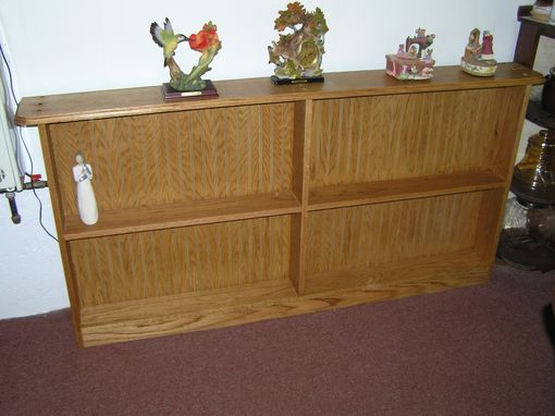Custom Made Oak Bookcase And Or Nick Nack Display