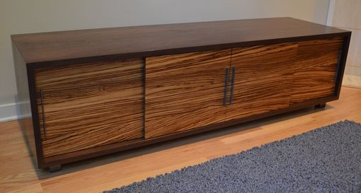 Custom Made Symanski Media Console