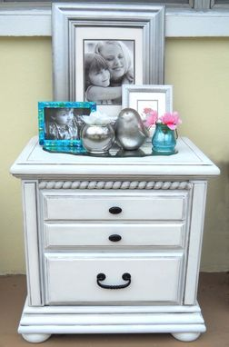 Custom Made The White Side Table
