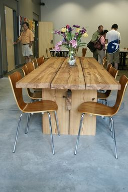 Custom Made Southern Yellow Pine Conference Table