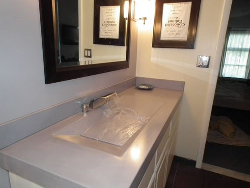 Custom Made Alpine Concrete Sink