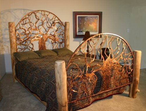 Custom Made Queen Size Pagosa Bed