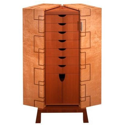 Custom Made Gentleman's Valet Cabinet by Wiggers Custom Furniture ...