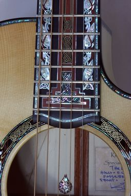 Custom Made The Lindisfarne Guitar