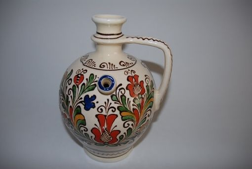 Custom Made Decorative Colored Handmade Ceramic Pitcher