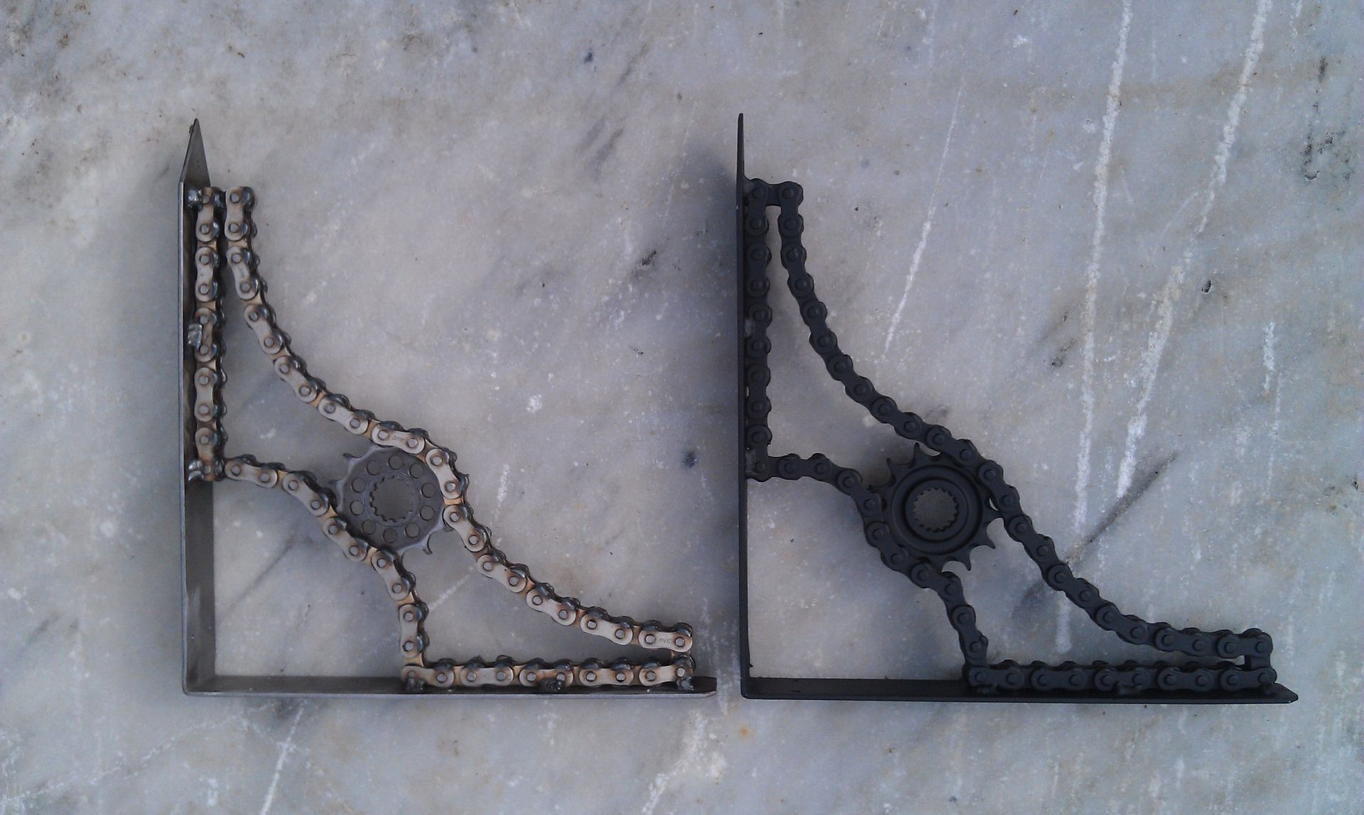Custom Made Shelf Brackets By Moto Metal Fab Custommade Com