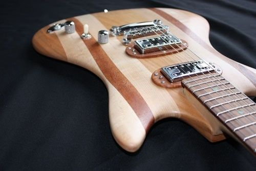 "Custom Made ""Thinline"" Electric Guitar"