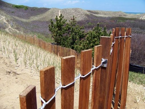 Custom Made Coastal Dune Fence