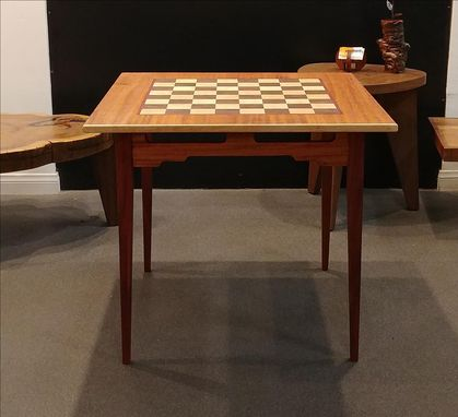 Custom Made Over-Sized Chessboard Table