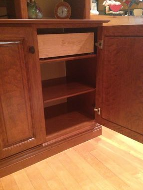 Custom Made Cherry Wall Unit