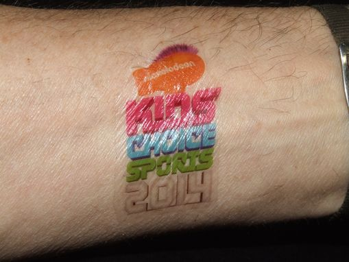 Custom Made Temporary Tattoos For Kids Choice Awards
