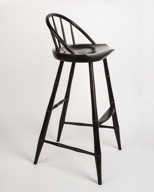 Custom Made Russell's Windsor Bar Stool