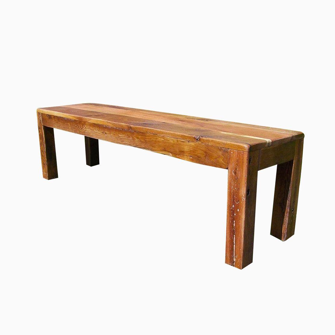 Phenomenal Buy A Hand Crafted Reclaimed Barn Wood Parsons Style Bench Creativecarmelina Interior Chair Design Creativecarmelinacom