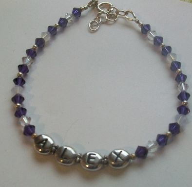 Custom Made Personalized Name Bracelet