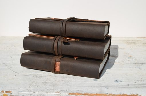 Custom Made Handmade Leather Bound Set Journal Collection (209)