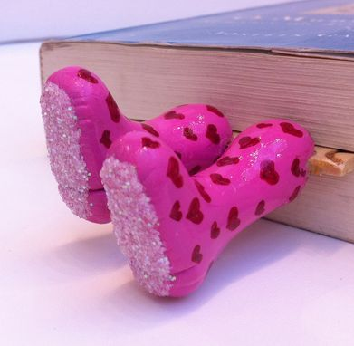 Custom Made Legs In Your Book - Love Steps Bookmark