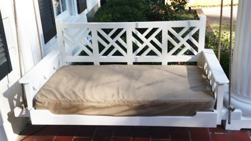 Custom Made Chippendale Porch Bed Swing