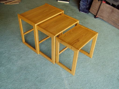Custom Made Set Of Nested Tables