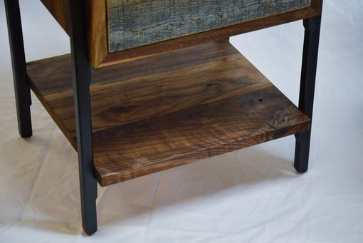 Custom Made Walnut Continuous Grain End Tables