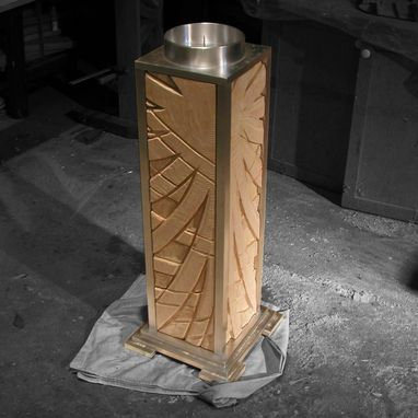 Custom Made Paschal Candle Stand 2