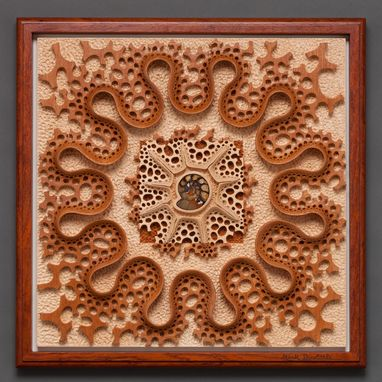 "Custom Made Wall Sculpture ""Ripples Through Time"""