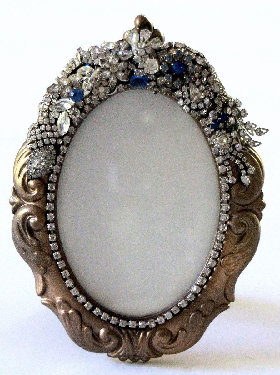 Top Custom Jeweled Mirrors And Frames by Arc Designs By Ellen  WE53